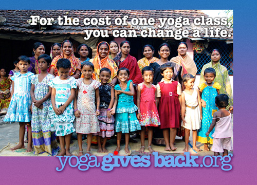 Changing Lives For the Cost of One Yoga Class