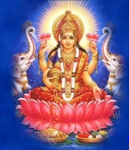 Hindu Godess Laxmi - Mark Whitwell