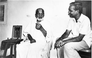 Krishnamacharya with Desikachar - Mark Whitwell