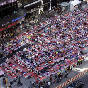 2014 Solstice in Times Square