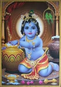Janmashtami: Baby Krishna