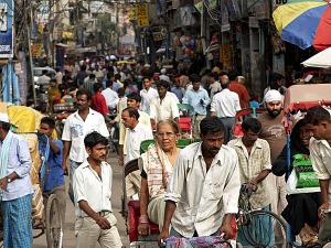 David Gordon White: New Delhi Street