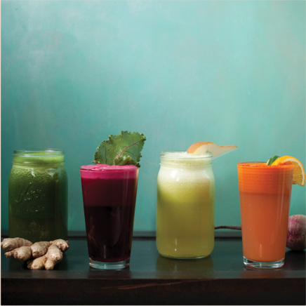 An Ayurvedic Holiday Juice Cleanse