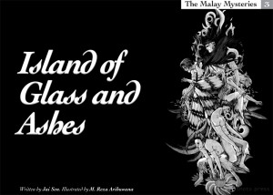 Jai Sen island of glass and ashes