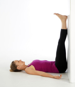 Yoga for Autumn: Legs Up The Wall