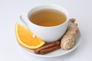 Vata Season: Ginger Cinammon Herbal Tea