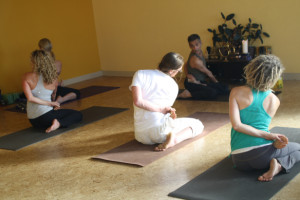 Arun Deva Teaching Yoga