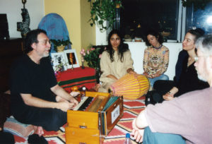 Nina Rao with Krishna Das